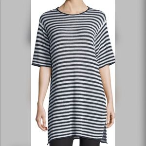 NWT Eileen Fisher Striped Sweater